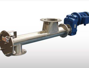 Proconsil Grup - Snecuri.ro - Snecuri Transportoare elicoidale tubulare din oţel inoxidabil pentru industria alimentară TXF